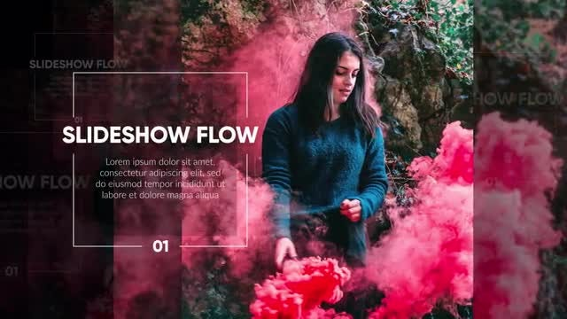 Slideshow - Modern Flow Promo: After Effects Templates