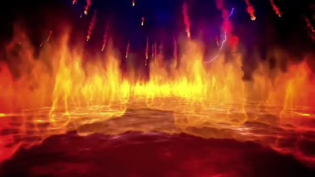 Fire Inferno Loop: Stock Motion Graphics