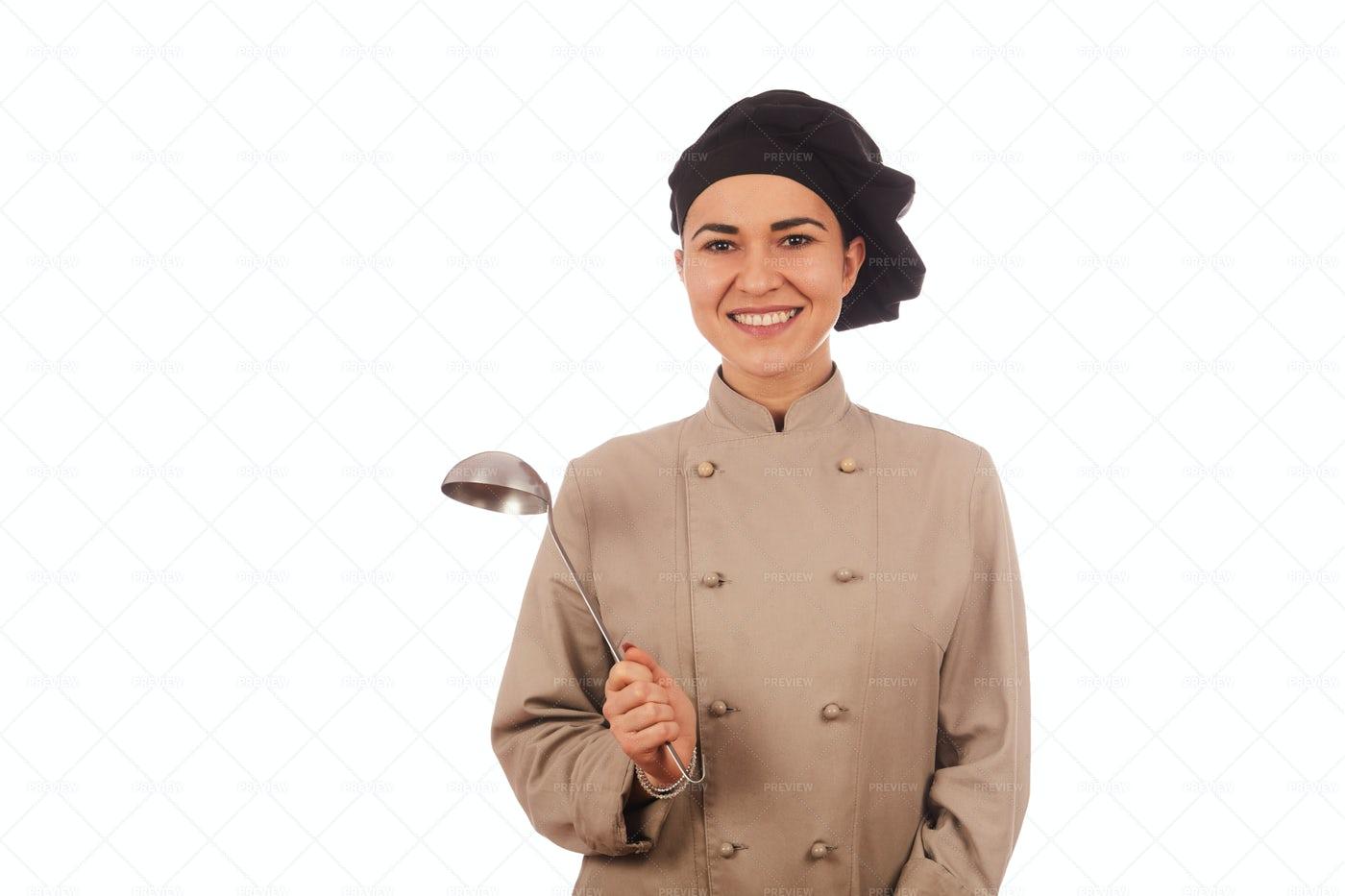 Woman Chef: Stock Photos