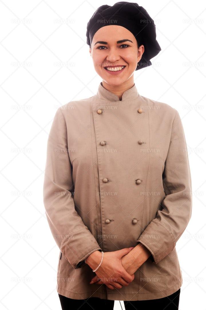 Portrait Of A Chef: Stock Photos