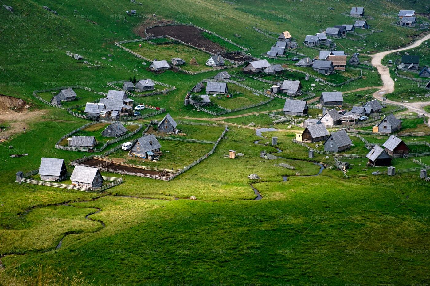 Mountain Village: Stock Photos