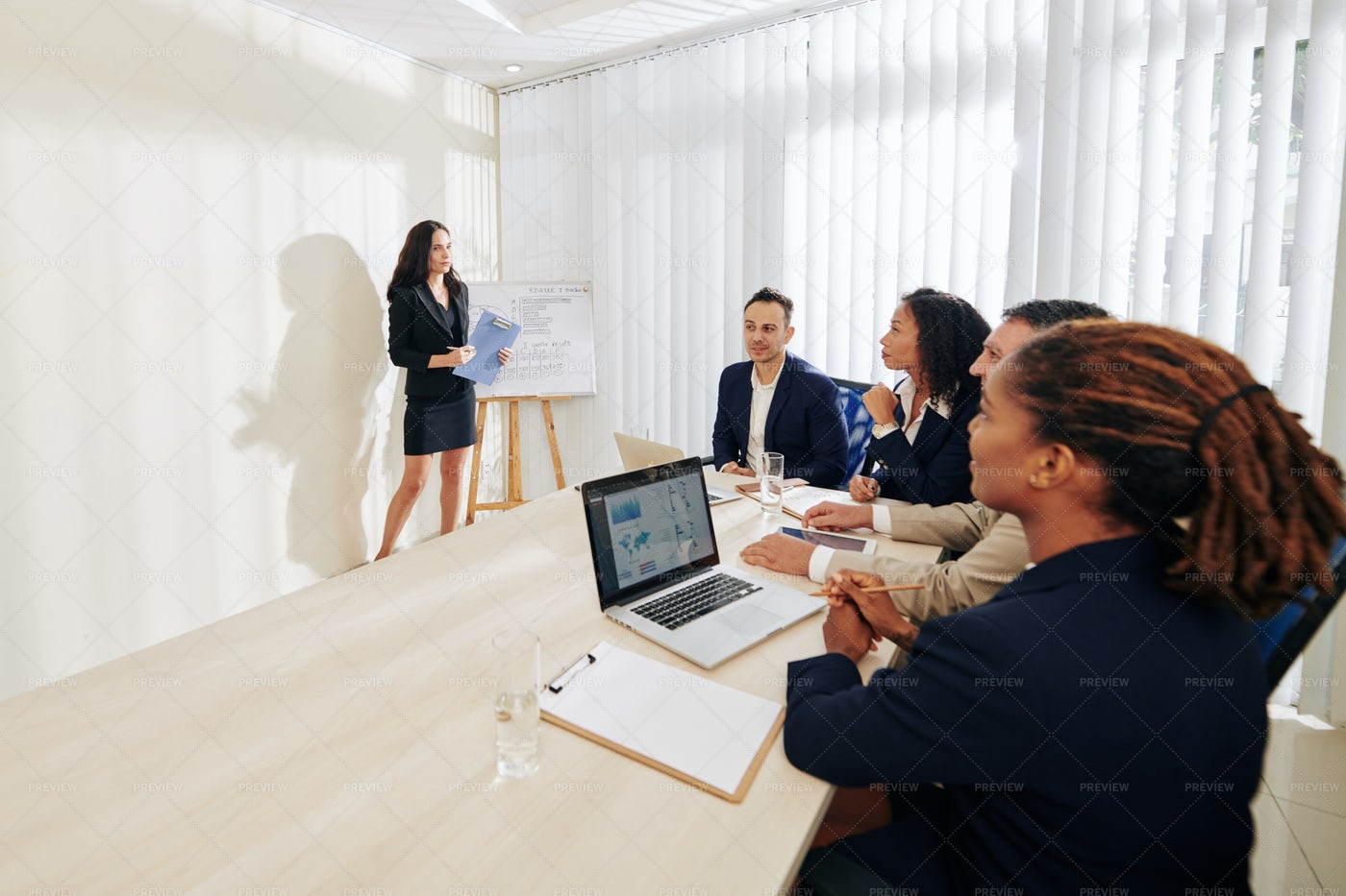 Business People Meeting In Office: Stock Photos