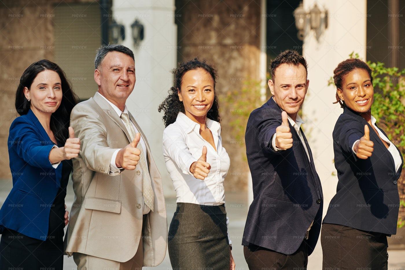 Successful  Business Team: Stock Photos
