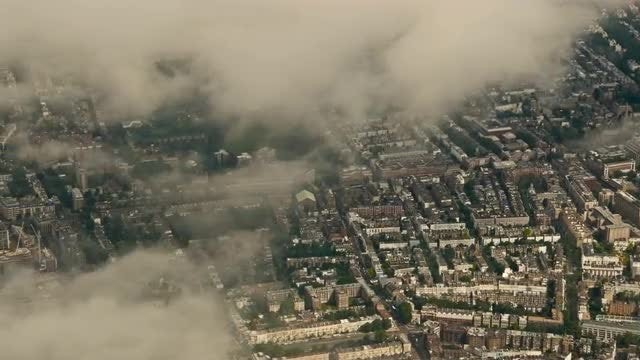 Clouds Over The UK : Stock Video