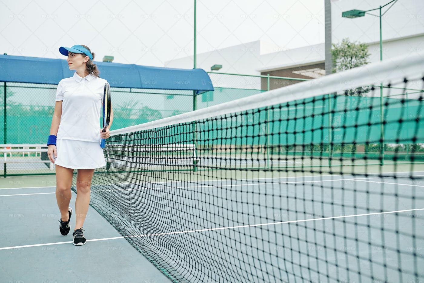 Woman Tennis Player: Stock Photos