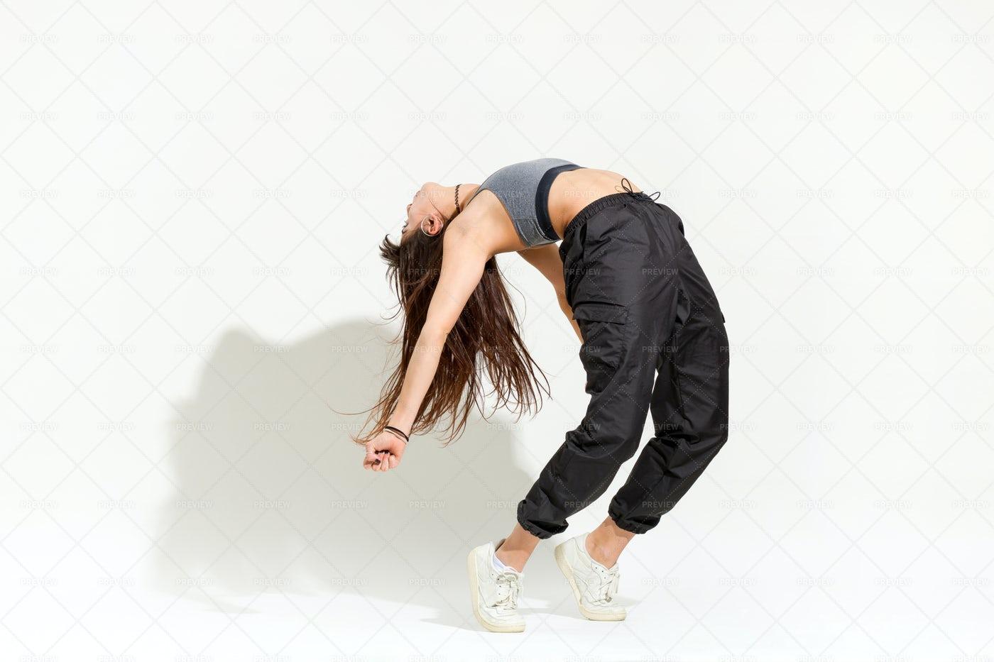 Doing A Dance Pose: Stock Photos