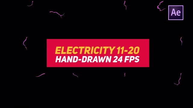 Liquid Elements 3 Electricity 11-20: After Effects Templates