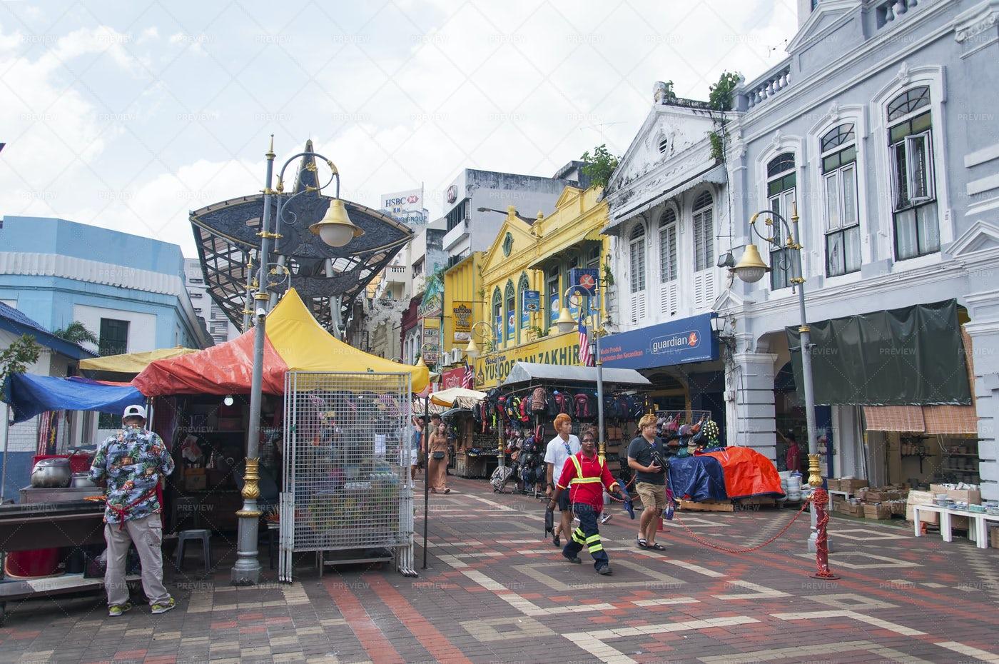 Kasturi Walk In Kuala Lumpur: Stock Photos