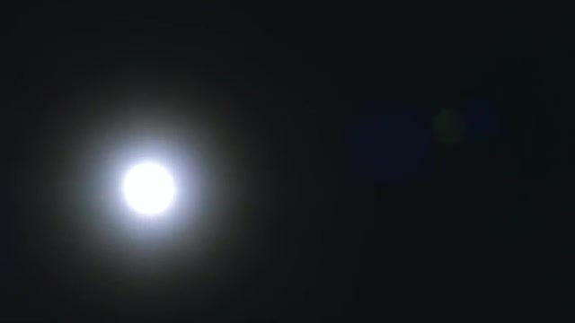 Time Lapse Of Full Moon : Stock Video