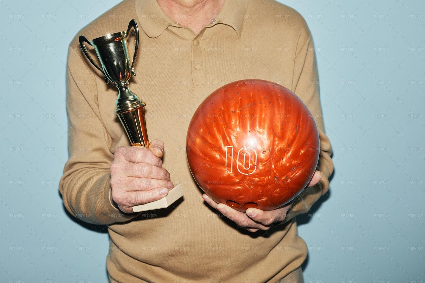 Bowling Triumph: Stock Photos