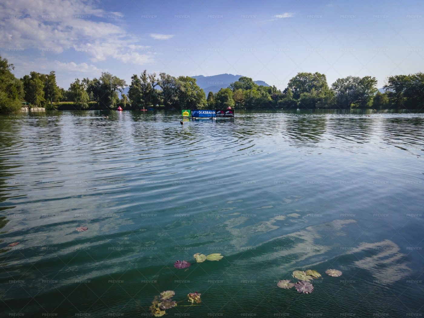Jannersee Lake View: Stock Photos