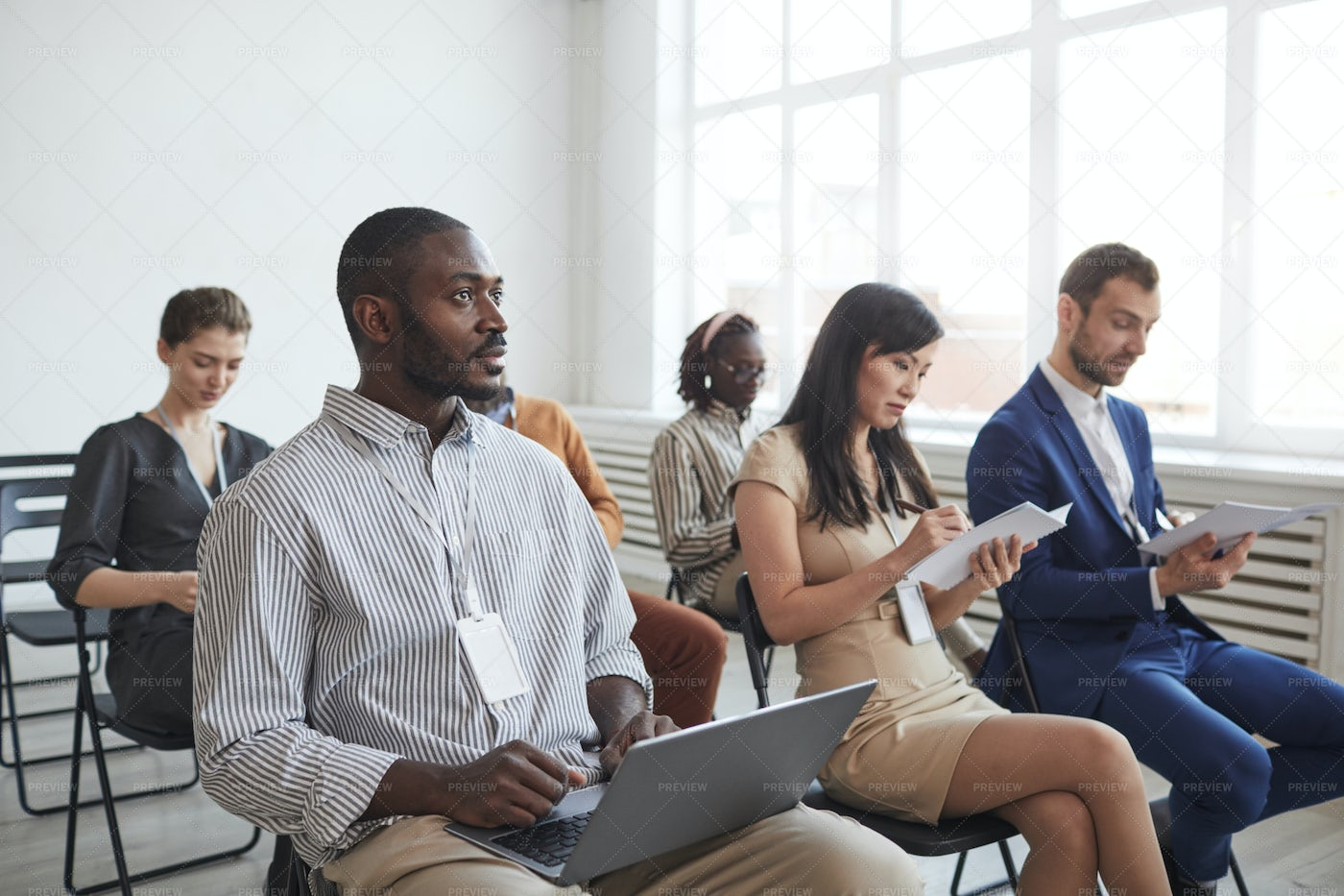 People Listening At Conference: Stock Photos
