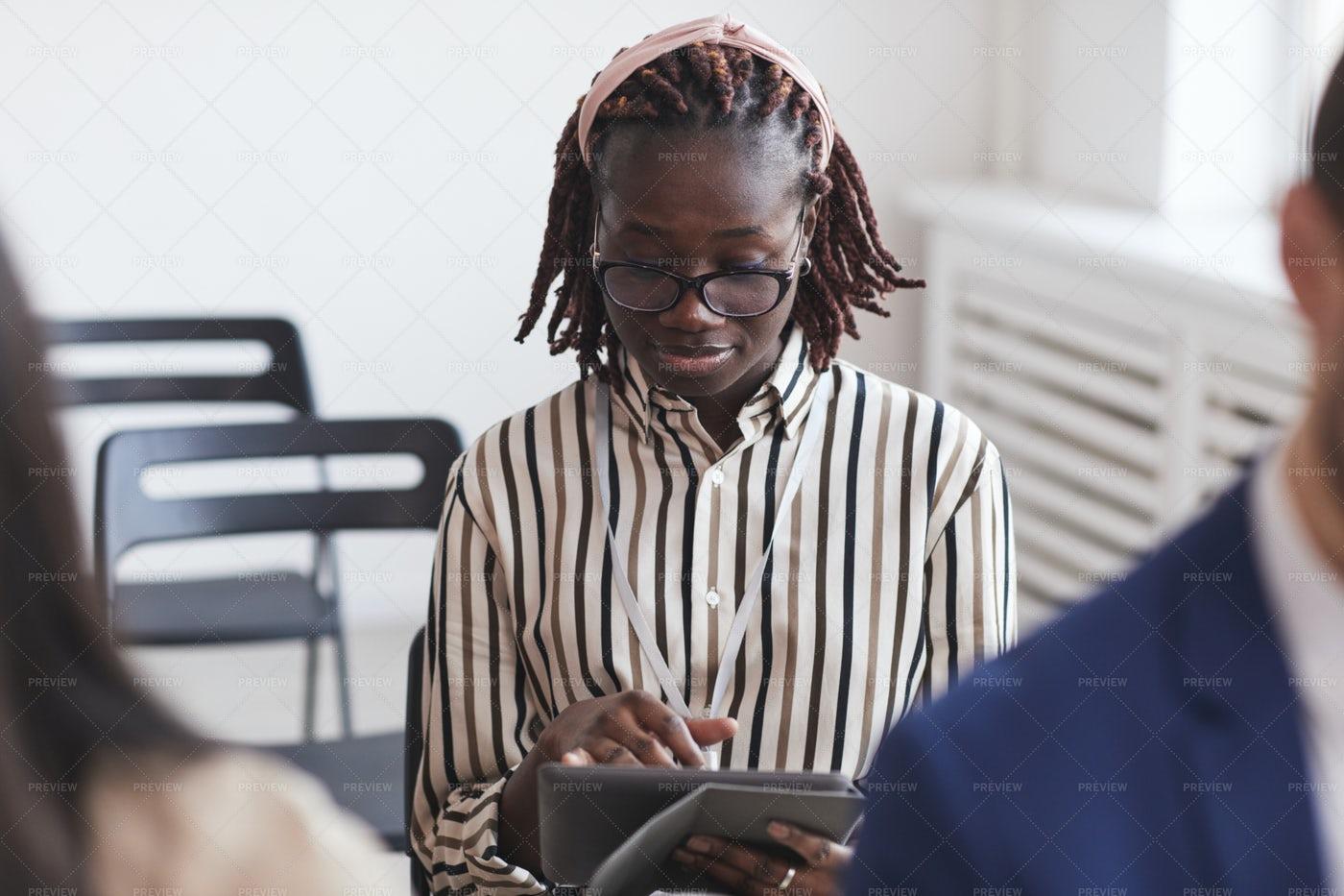 Woman Taking Notes: Stock Photos