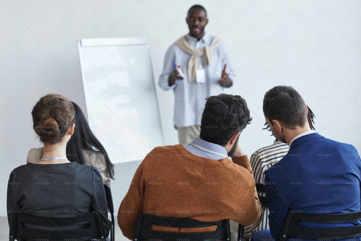 Audience At Coaching Seminar: Stock Photos