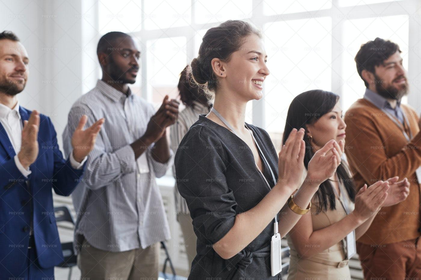 Business People Applauding: Stock Photos