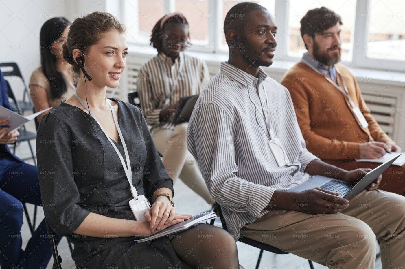 Business People In Audience: Stock Photos