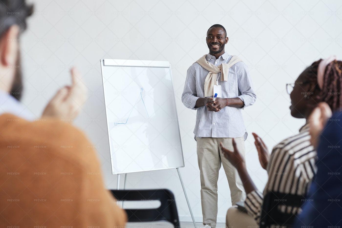 Business Coach Talking: Stock Photos