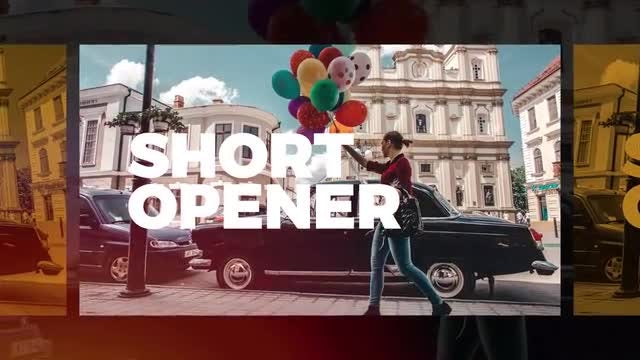 Short Opener: After Effects Templates