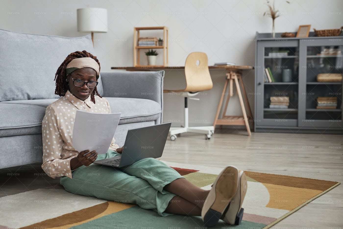 Working From Home: Stock Photos