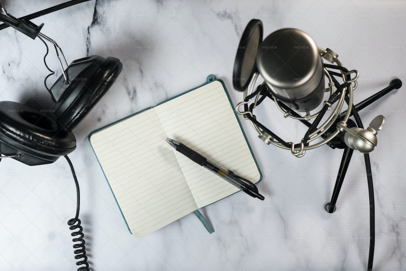 Podcast Setting: Stock Photos