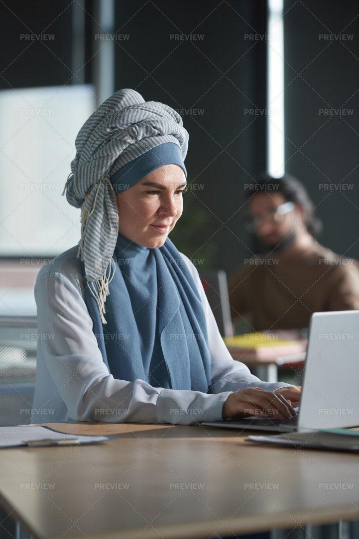 Web Designer At Office: Stock Photos