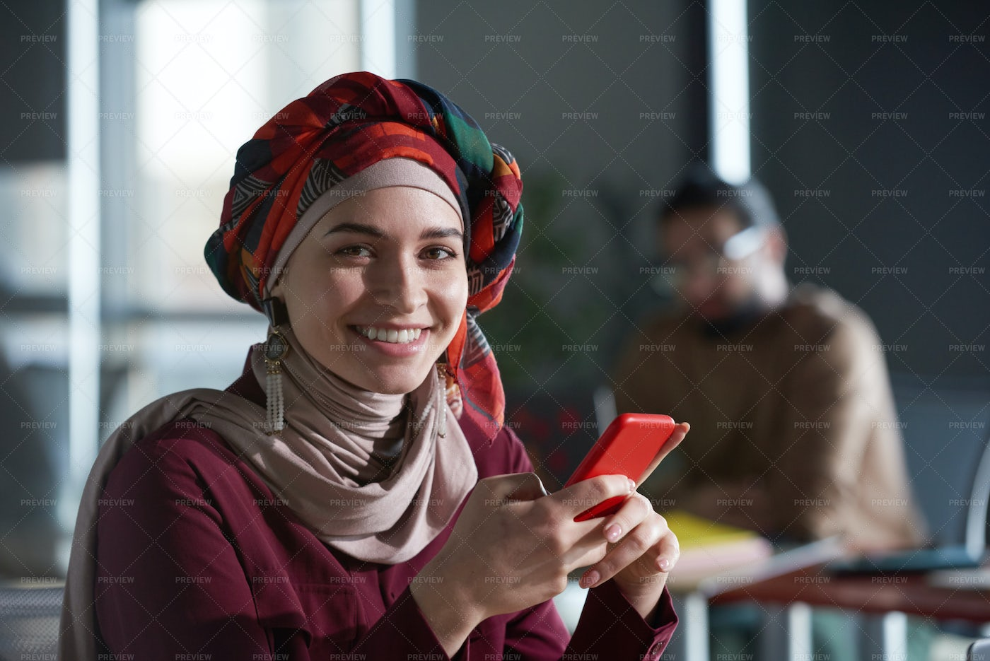 Businesswoman With Mobile Phone: Stock Photos