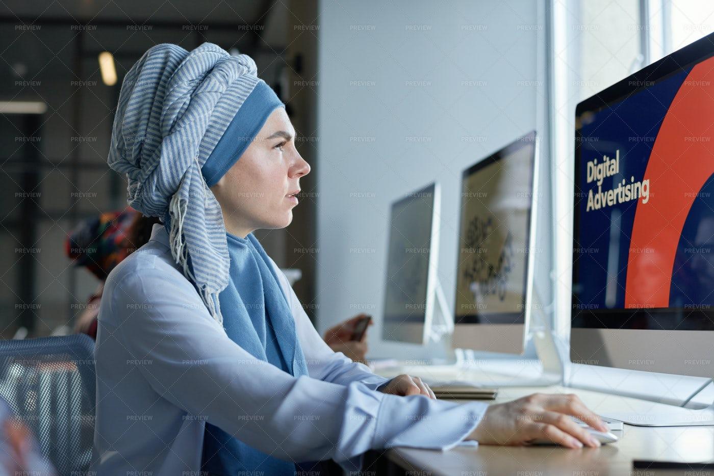 Developer Working On Computer: Stock Photos