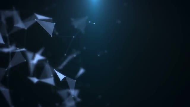 Futuristic Plexus Background: Stock Motion Graphics