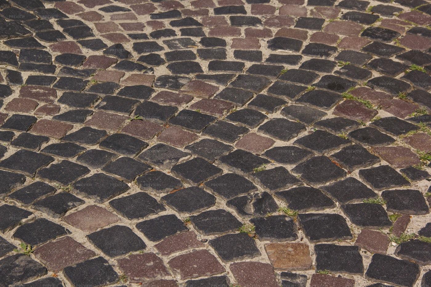 Texture Of Cobblestone: Stock Photos