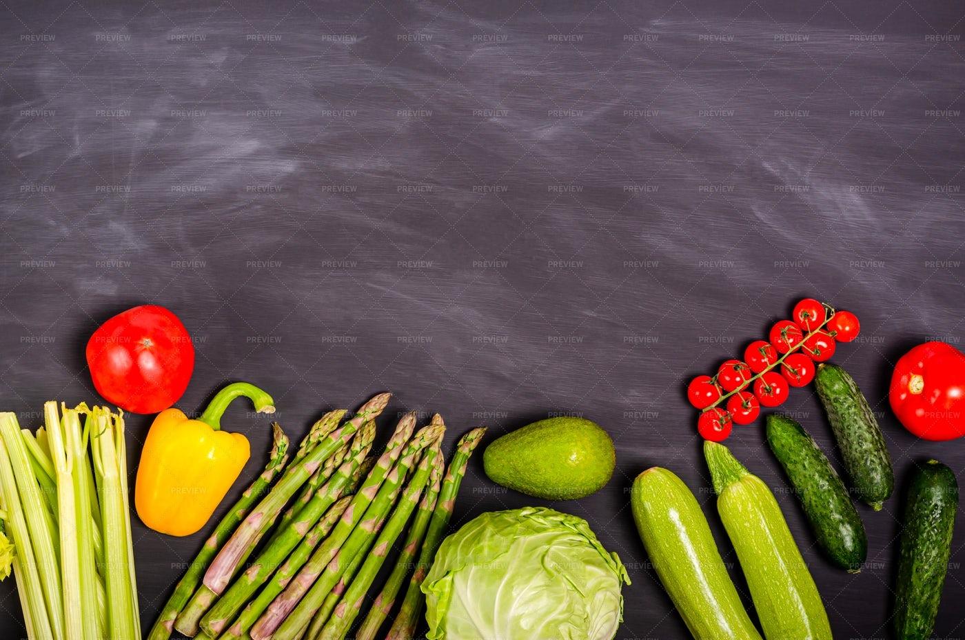 Assorted Fresh Vegetables: Stock Photos