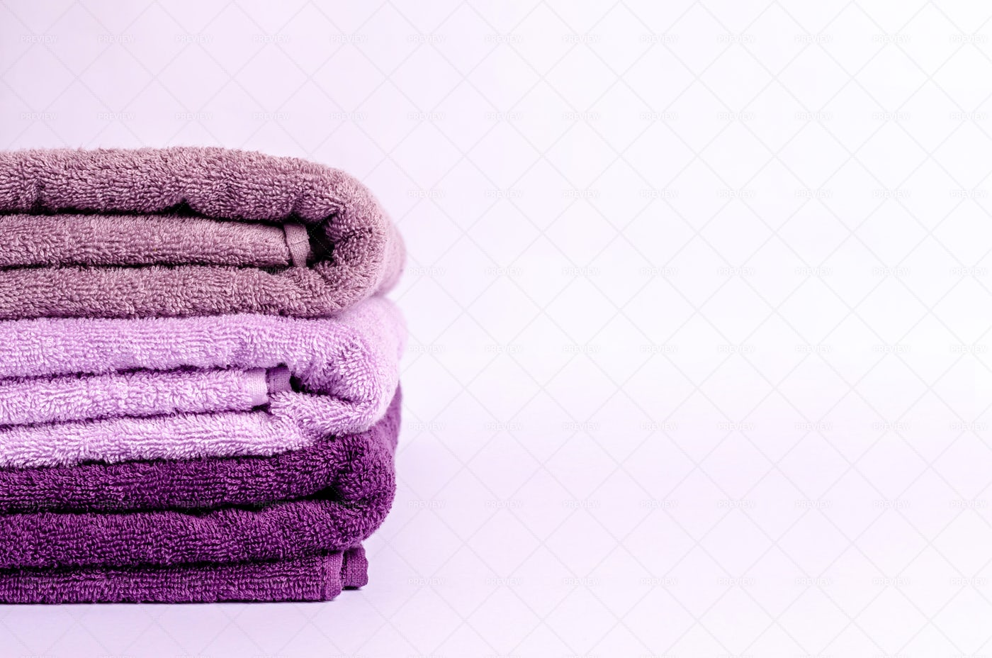Stack Of Bath Towels: Stock Photos