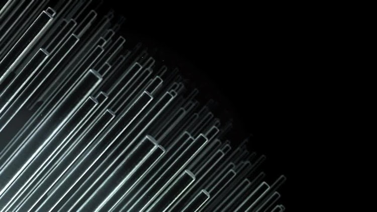 Metal Bars 01: Stock Motion Graphics