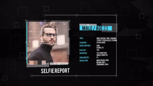 Glitch Selfie Slideshow: After Effects Templates