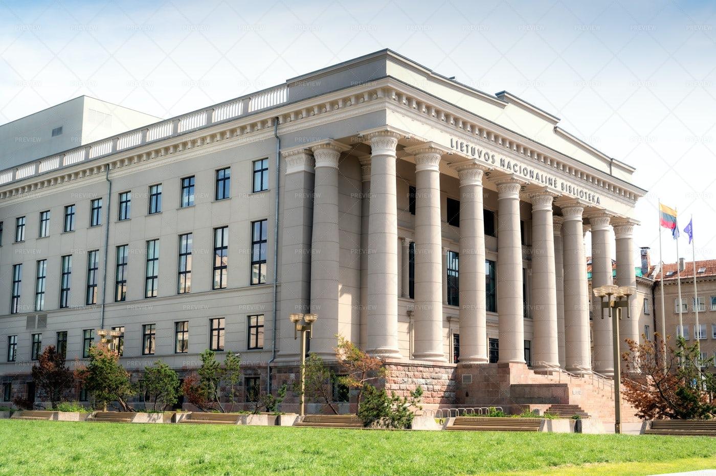 National Library Of Vilnius: Stock Photos