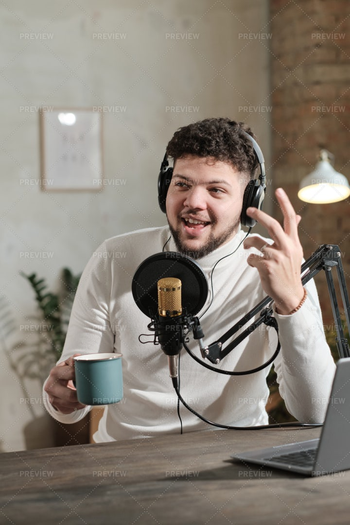 Man Working On Radio: Stock Photos