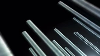Metal Bars 02: Motion Graphics