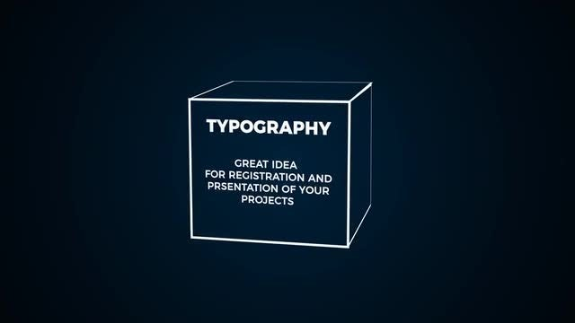 Modern Typography : After Effects Templates