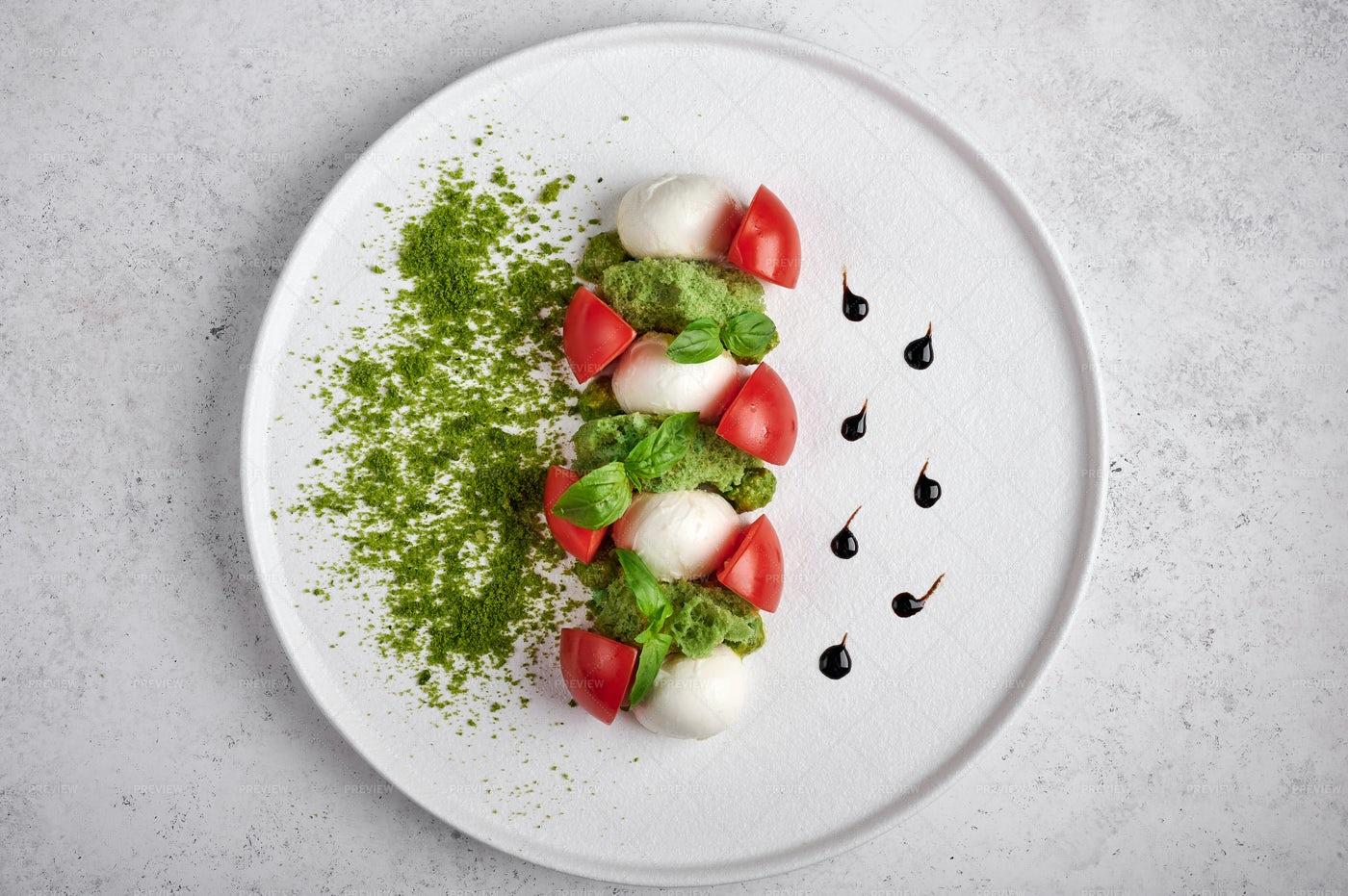 Caprese Salad: Stock Photos