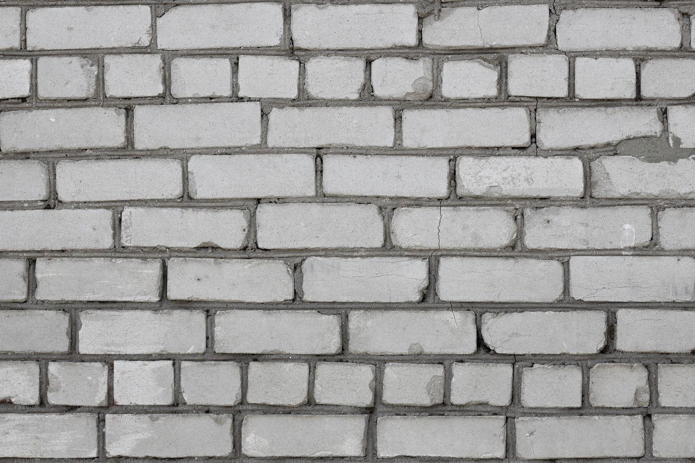 Grey Brick Wall: Stock Photos