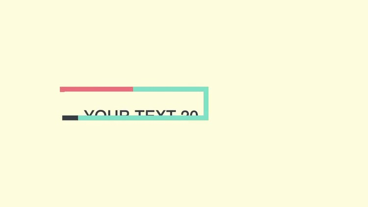 Layered Titles: After Effects Templates