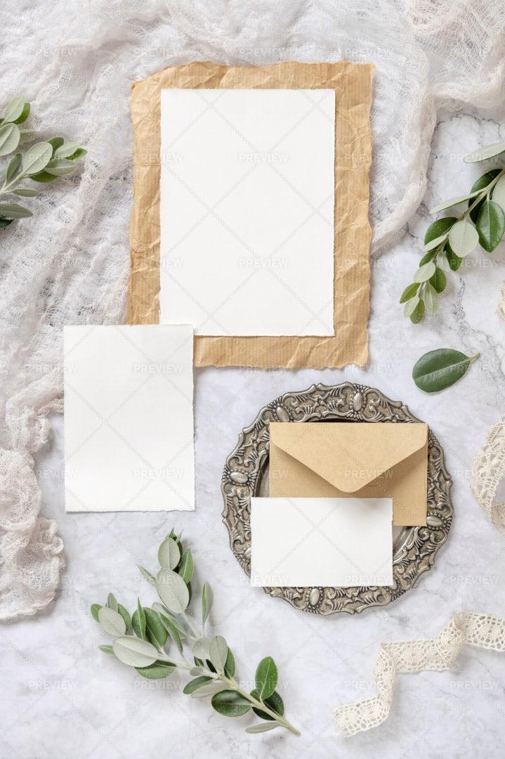 Wedding Blank Cards: Stock Photos
