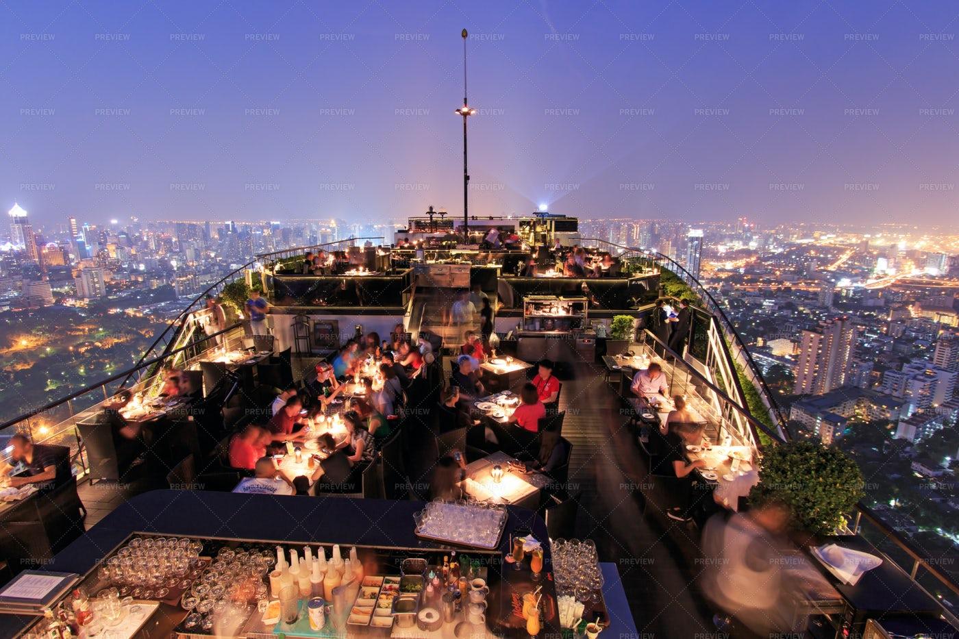 Bangkok By Night: Stock Photos