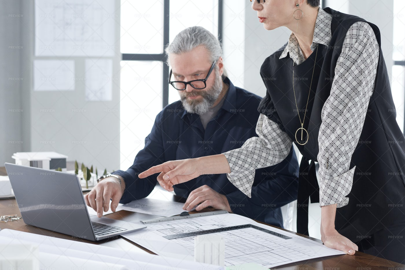 Working In Team: Stock Photos