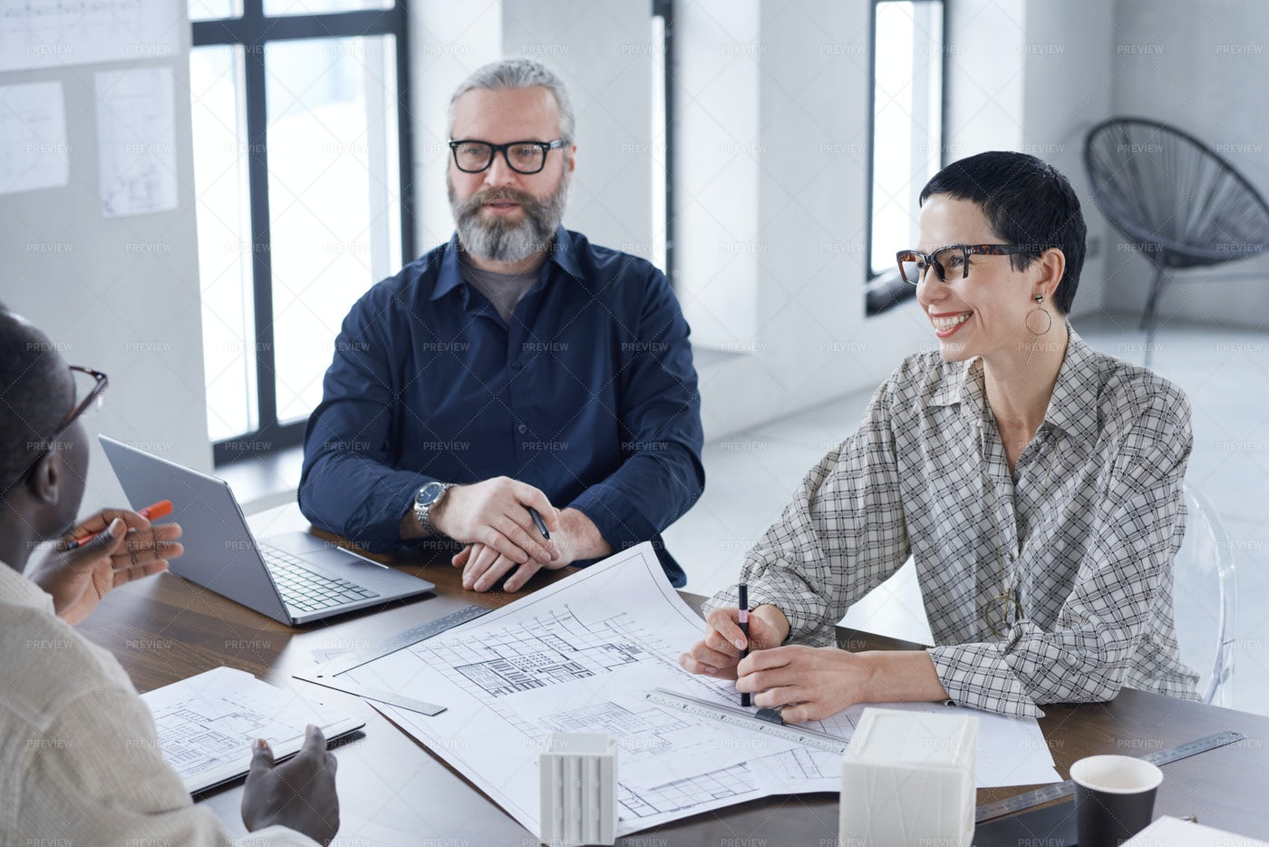 Business Meeting At Office: Stock Photos
