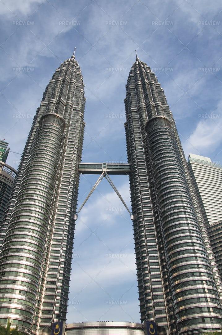 Petronas Towers Kuala Lumpur Malaysia: Stock Photos