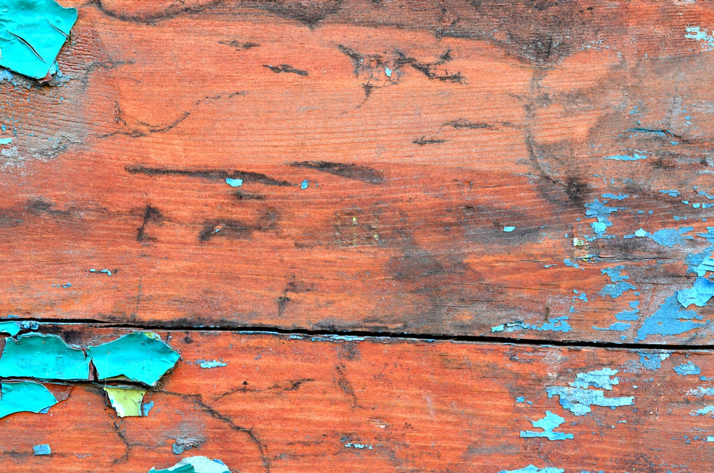 Board With Paint Residues: Stock Photos