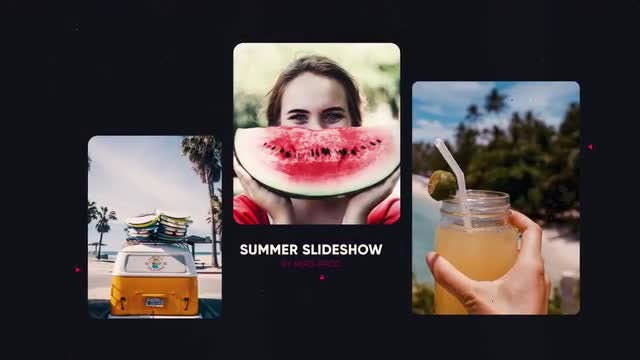 Summer Slideshow: After Effects Templates
