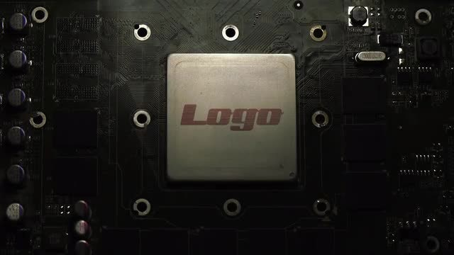 Microchip Logo Reveal : After Effects Templates