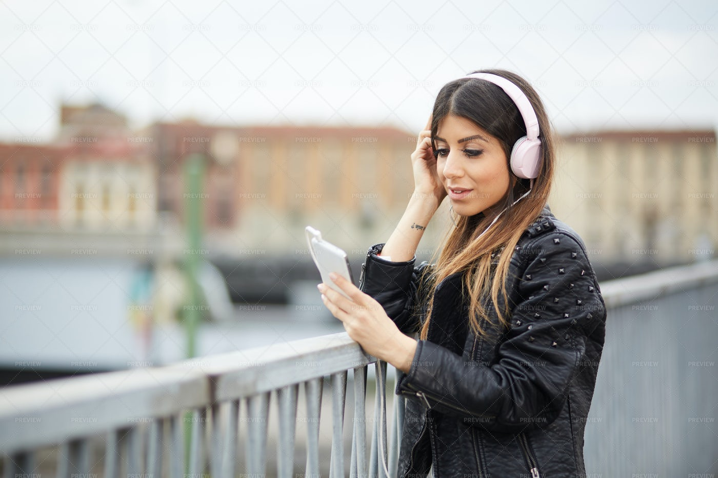 Listening Music: Stock Photos