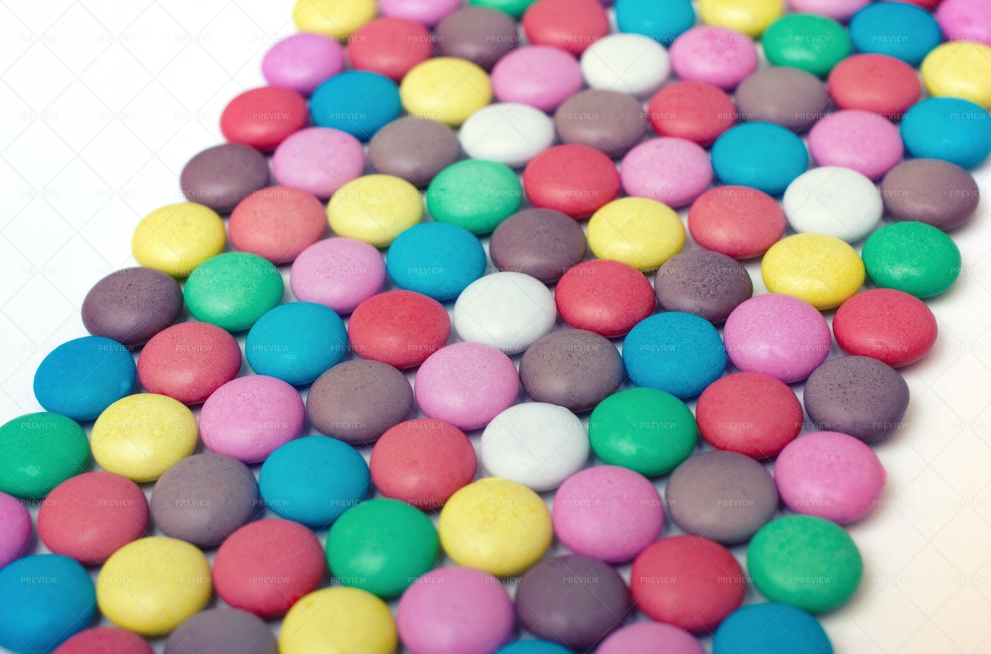 Colorful Candy Pattern: Stock Photos